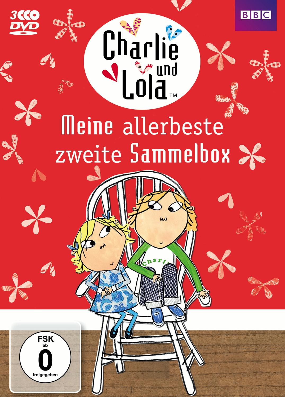 Charlie und Lola - Meine allerbeste zweite Sammelbox [3 DVDs] - Lauren Child