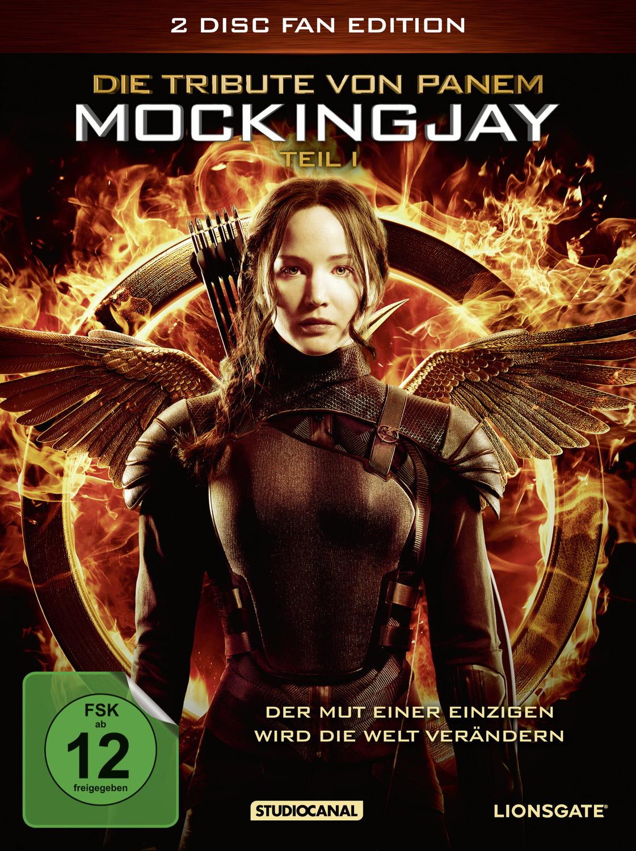 Die Tribute von Panem - Mockingjay Teil 1 [Fan Edition inkl. Poster, Booklet, 2 Discs]