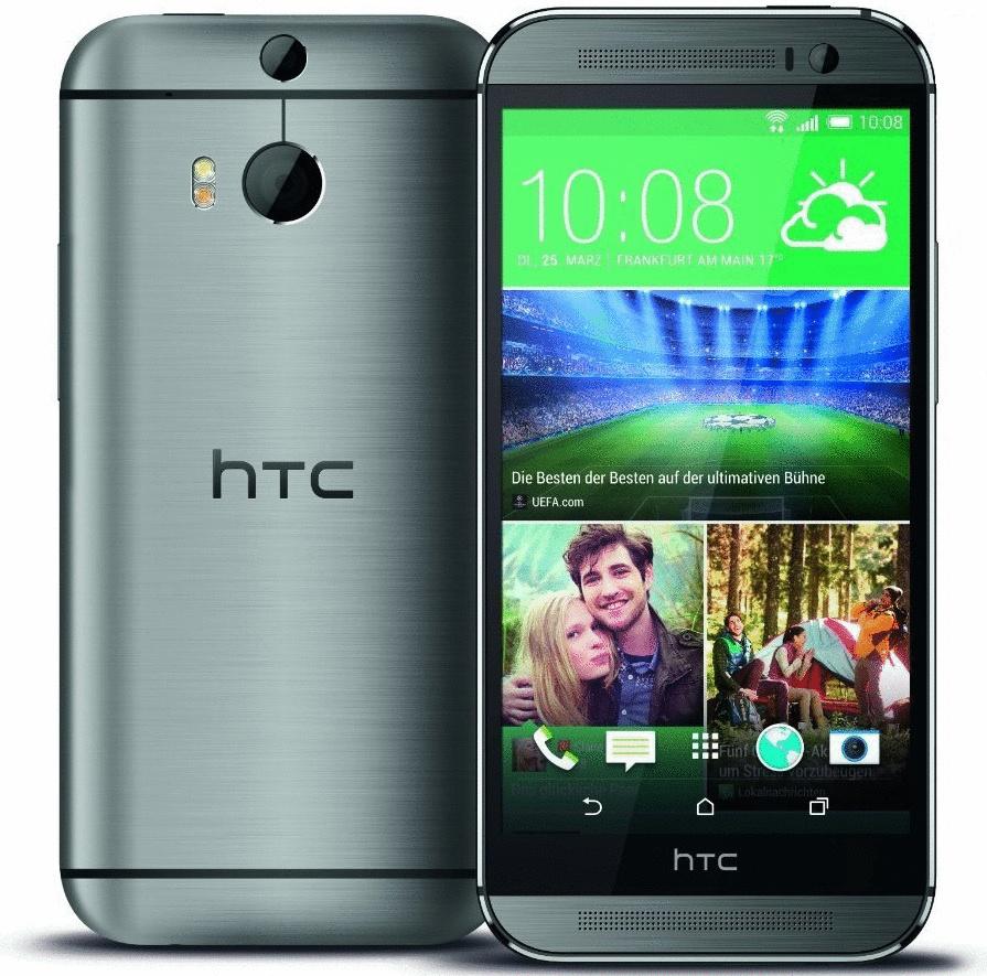 HTC One (M8) 16GB Dual SIM metall grau