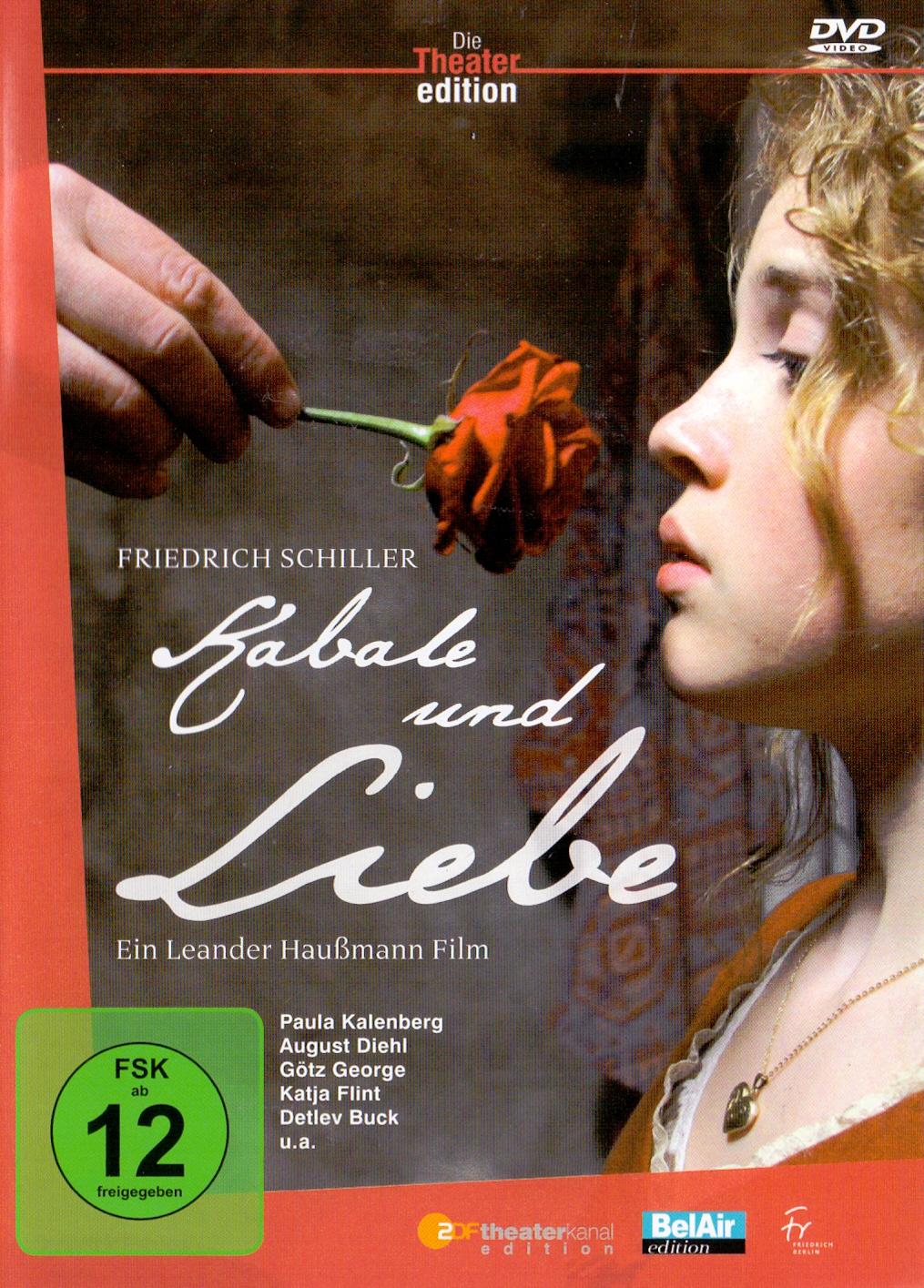 Die Theater Edition: Kabale und Liebe - Friedri...