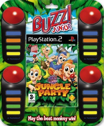 Buzz! Junior: Jungle Party + 4 Buzzer [Internat...
