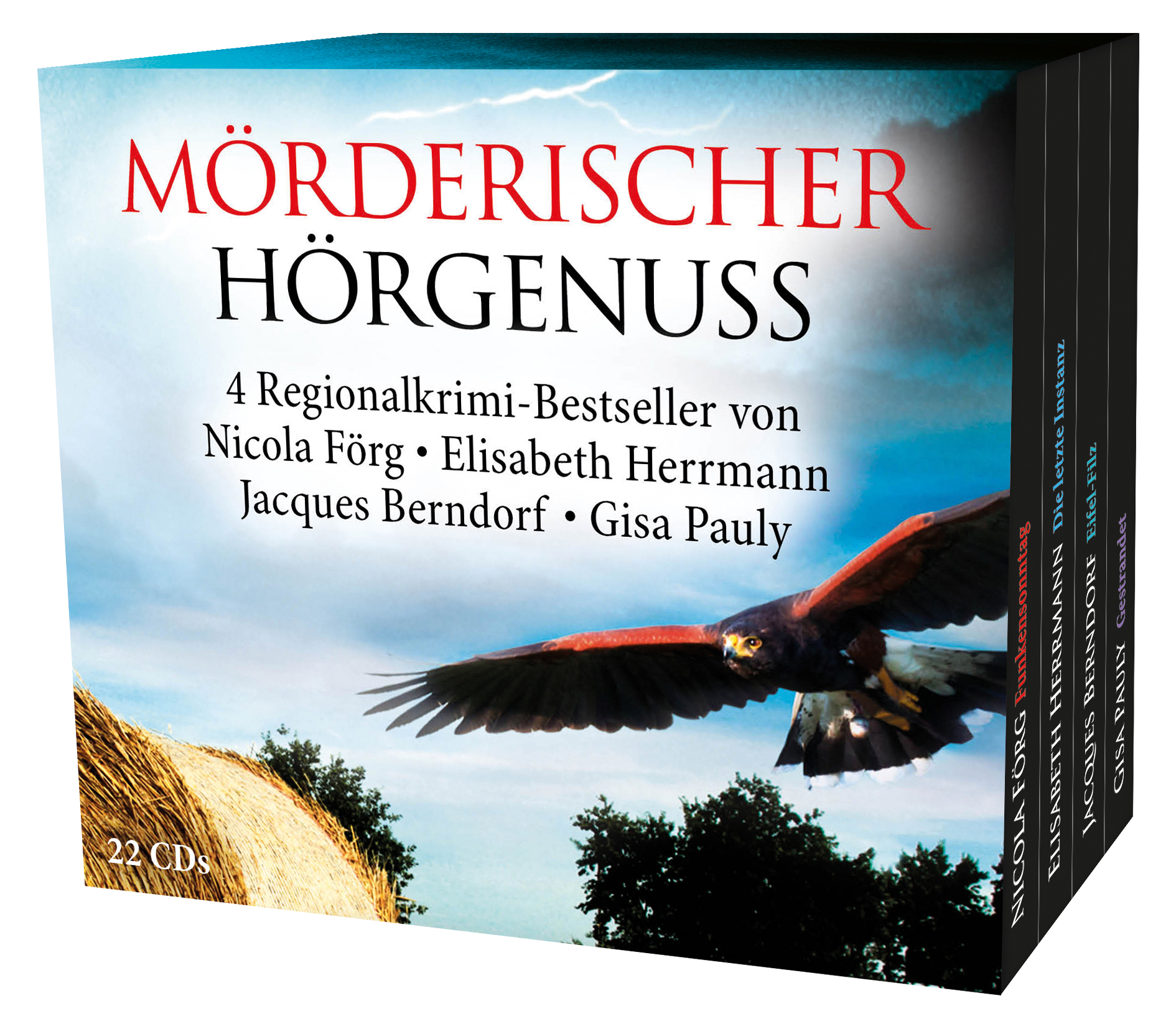 Mörderischer Hörgenuss-Box: Eifel-Filz/Funkenso...
