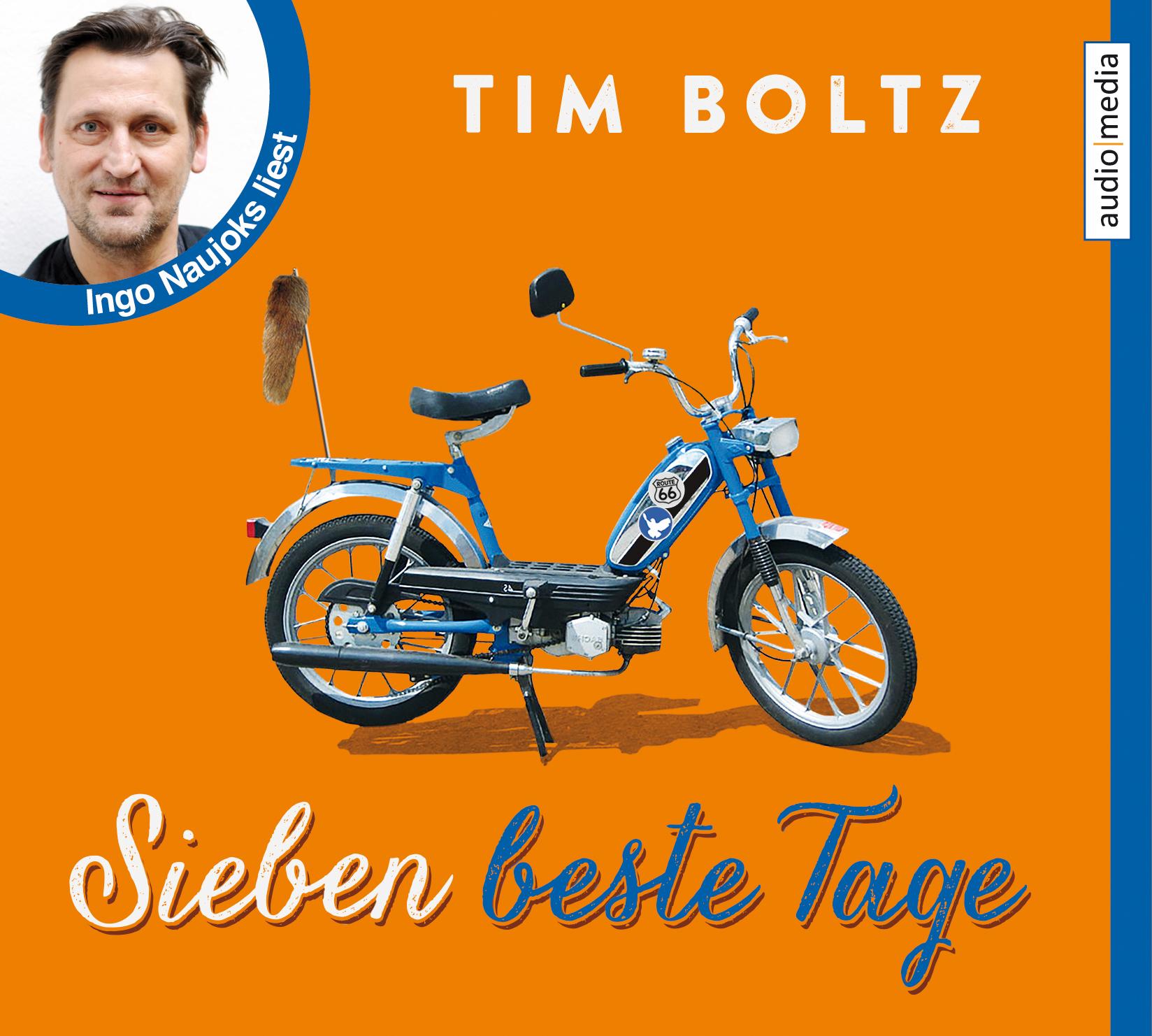 Sieben beste Tage - Tim Boltz [4 Audio CDs]