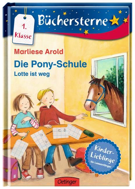 Die Pony Schule - Lotte ist weg!: Mit 16 Seiten...