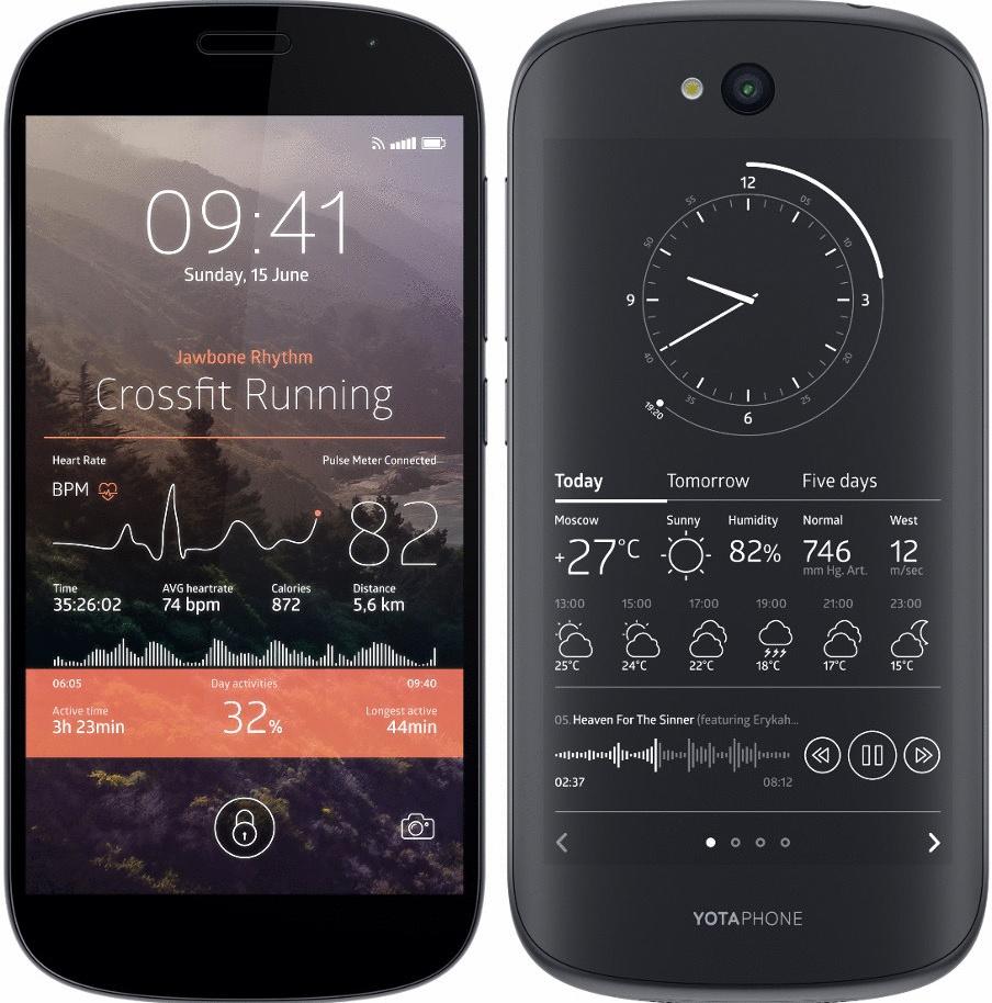 Yota YotaPhone 2 32GB schwarz