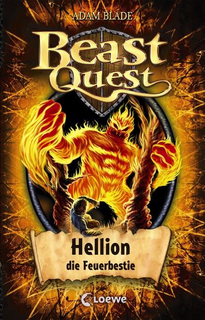 Beast Quest: Band 38 - Hellion, die Feuerbestie - Adam Blade [Gebundene Ausgabe]