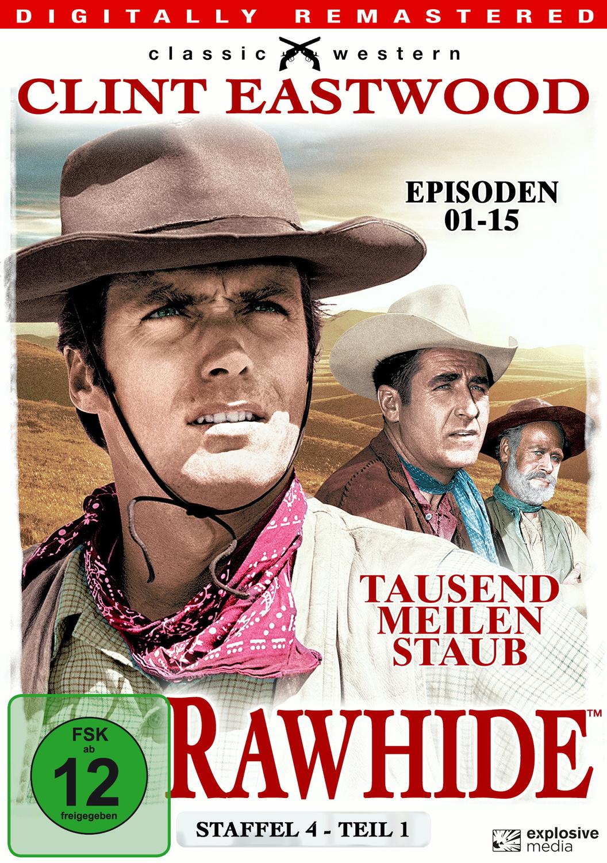 Rawhide - Tausend Meilen Staub - Season 4.1 [4 DVDs]