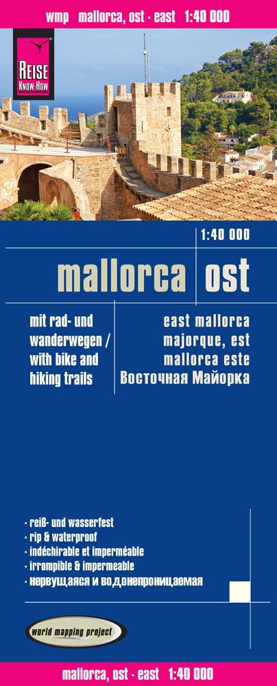 Reise Know-How: Mallorca Ost - Mit Rad- und Wan...