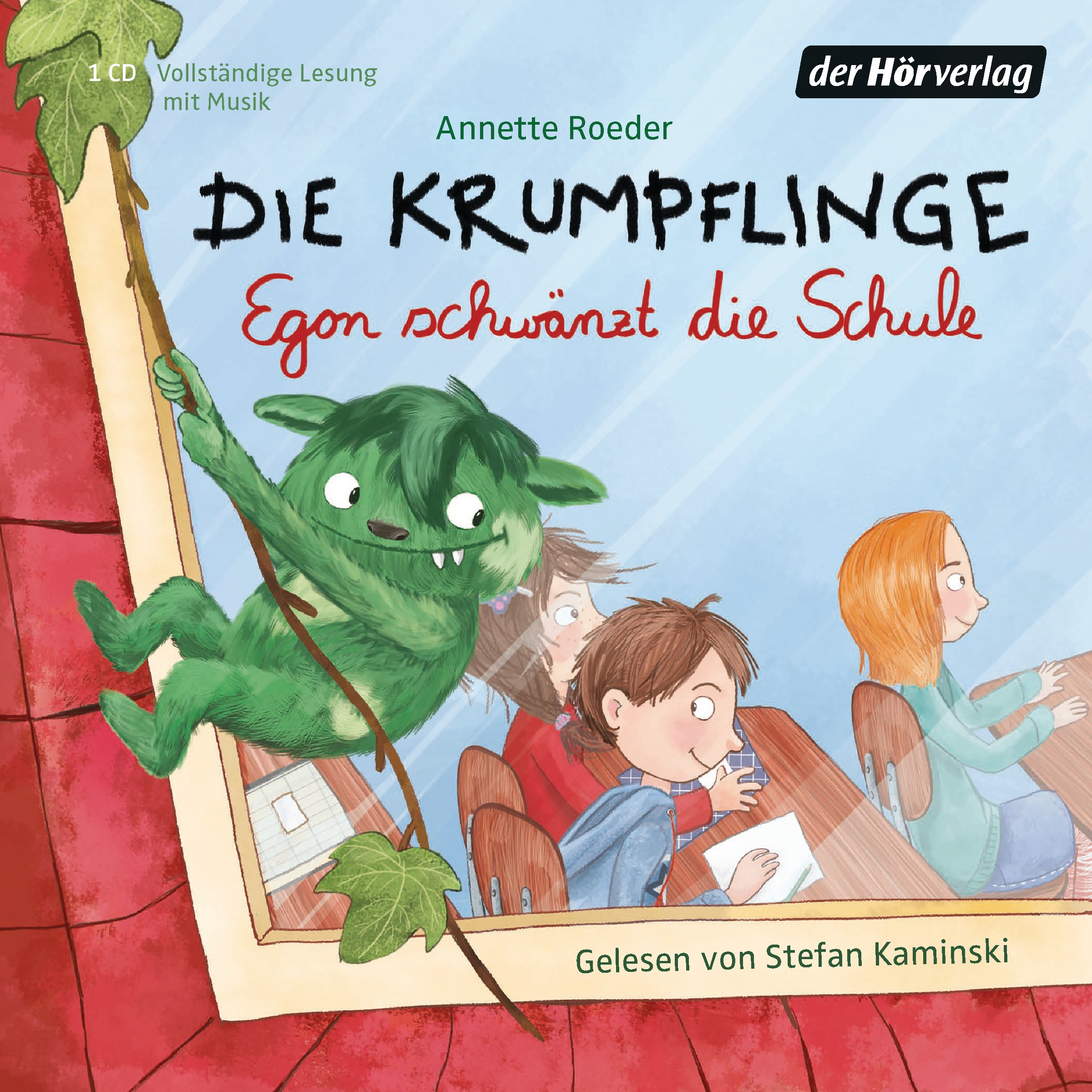 Die Krumpflinge: Folge 3 - Egon schwänzt die Schule - Annette Roeder