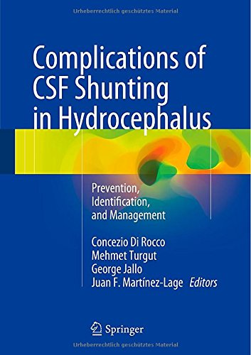 Complications of CSF Shunting in Hydrocephalus: Prevention, Identification, and Management [Hardcover]