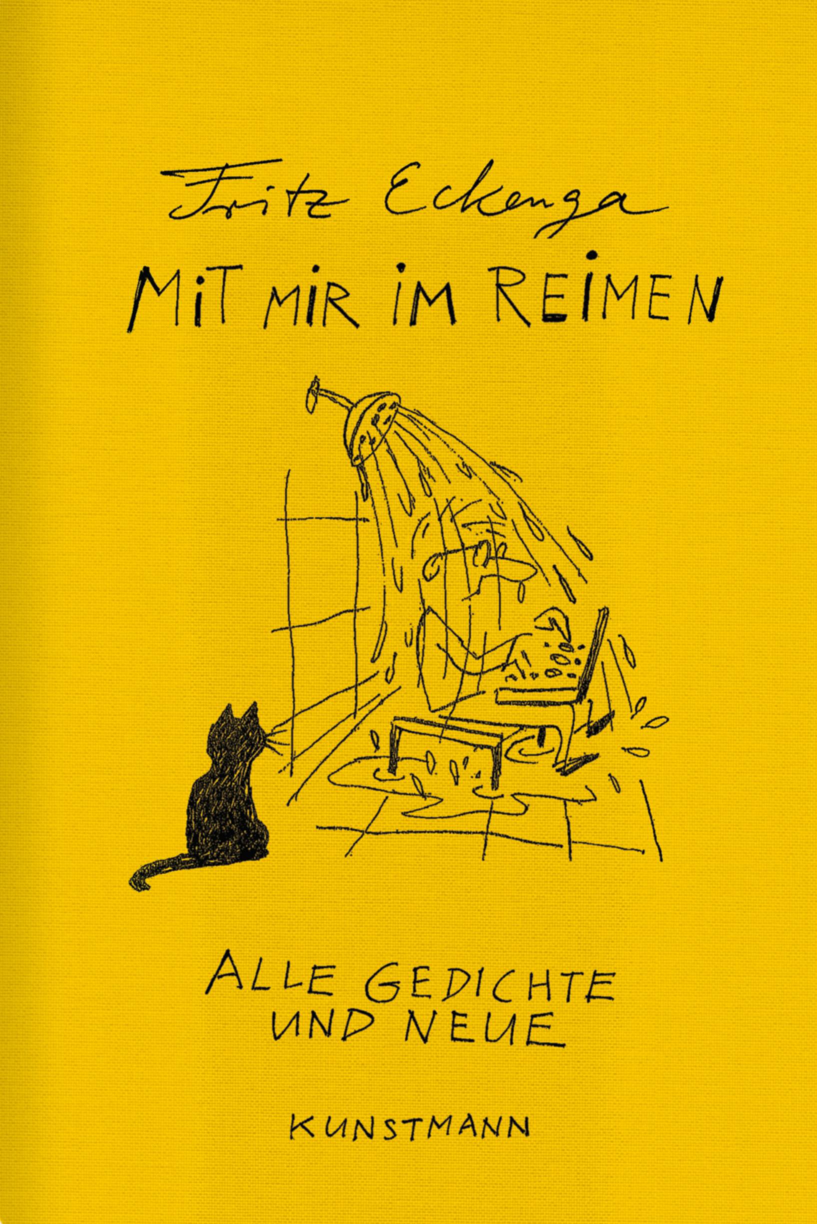 Mit mir im Reimen: Alle Gedichte und neue - Fritz Eckenga [Gebundene Ausgabe]