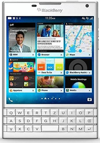 Blackberry Passport 32GB weiß