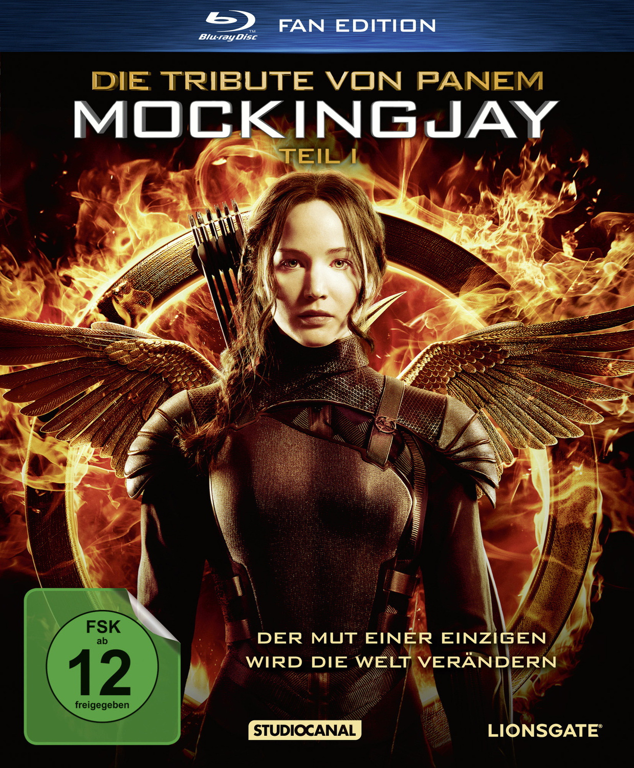 Die Tribute von Panem - Mockingjay Teil 1 [Fan Edition inkl. Poster, Booklet]