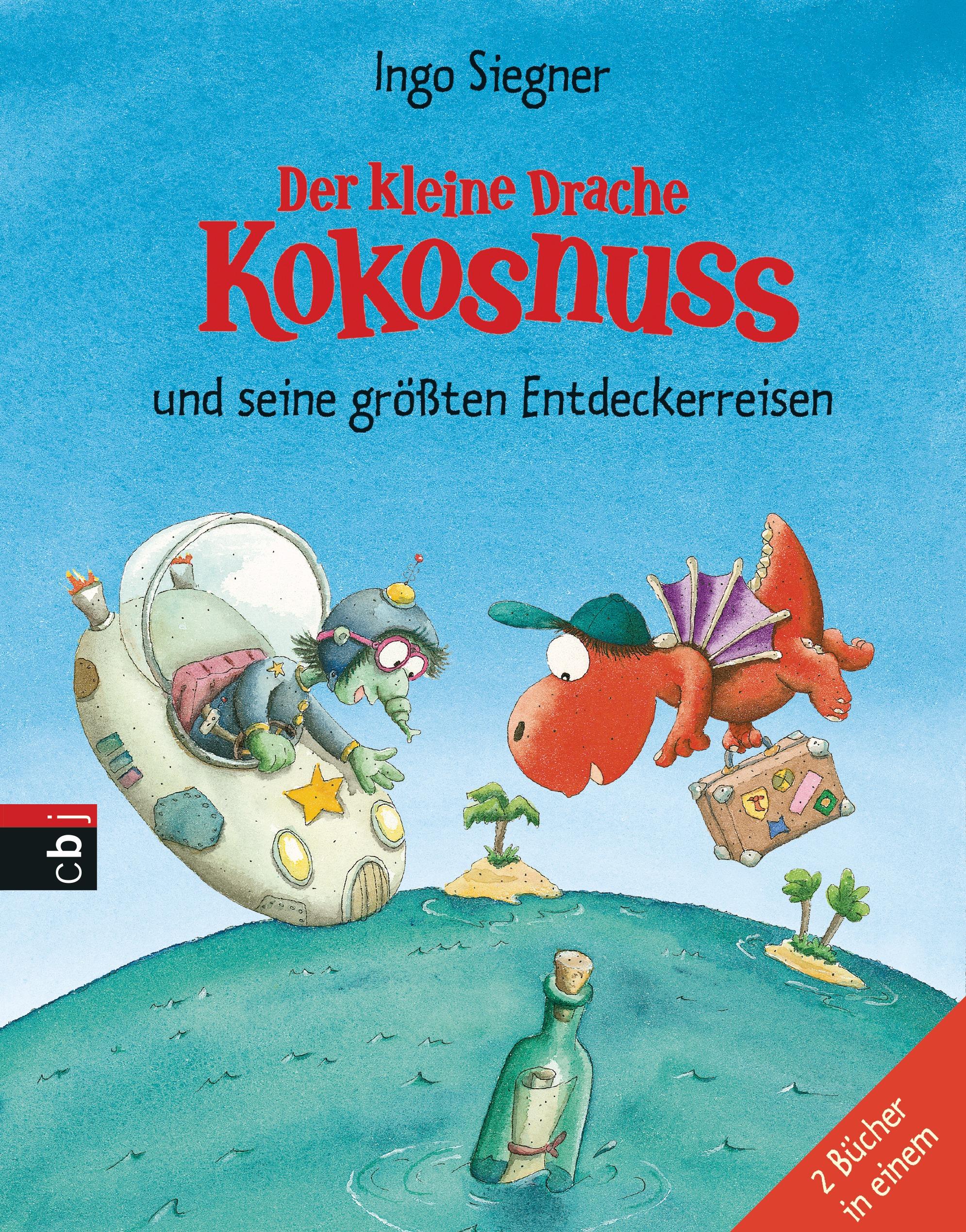 Der kleine Drache Kokosnuss und seine größten Entdeckerreisen: Sammelband - 2 Bände - Siegner, Ingo