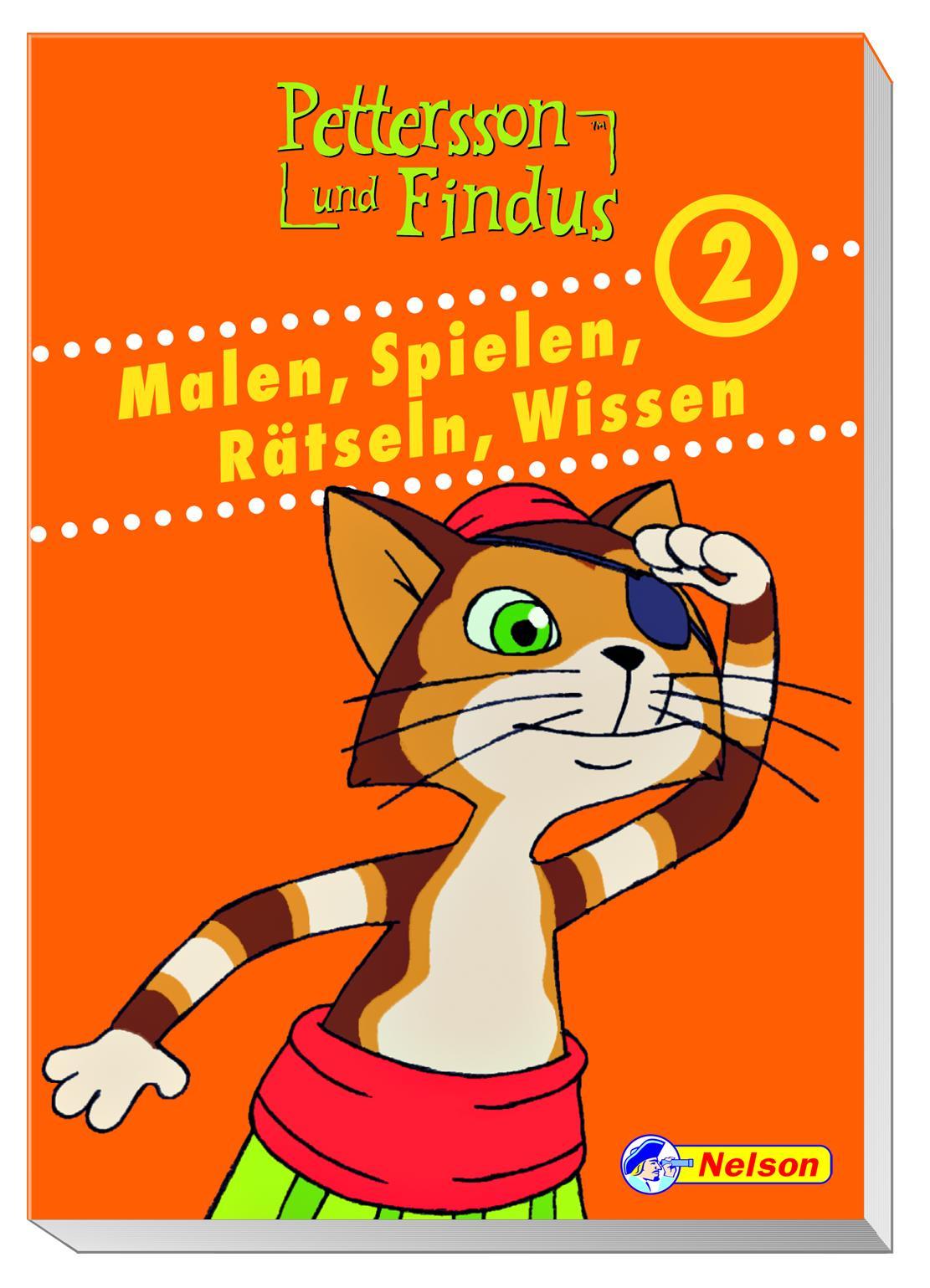 Pettersson und Findus - Malen, Spielen, Rätseln, Wissen 2: Beschäftigungsblock - Diverse