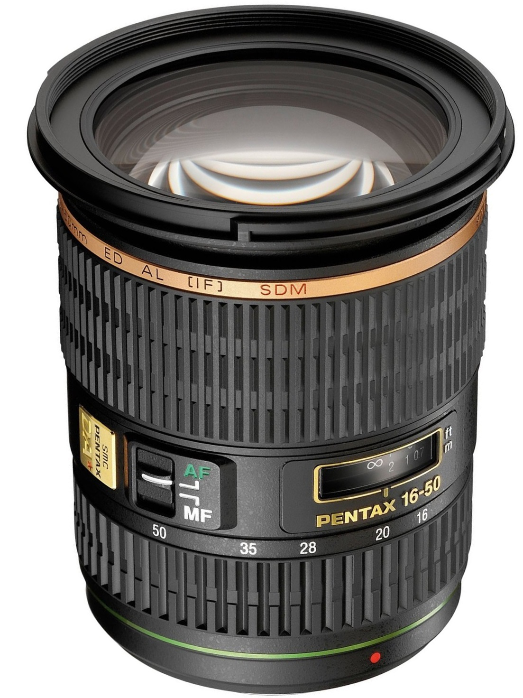 Pentax smc DA* 16-50 mm 2.8 ED AL IF SDM 77 mm ...