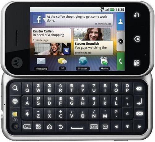 Motorola Backflip [englisches Tastaturlayout, Q...