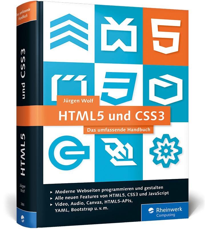 HTML5 und CSS3: Das umfassende Handbuch - Jürge...