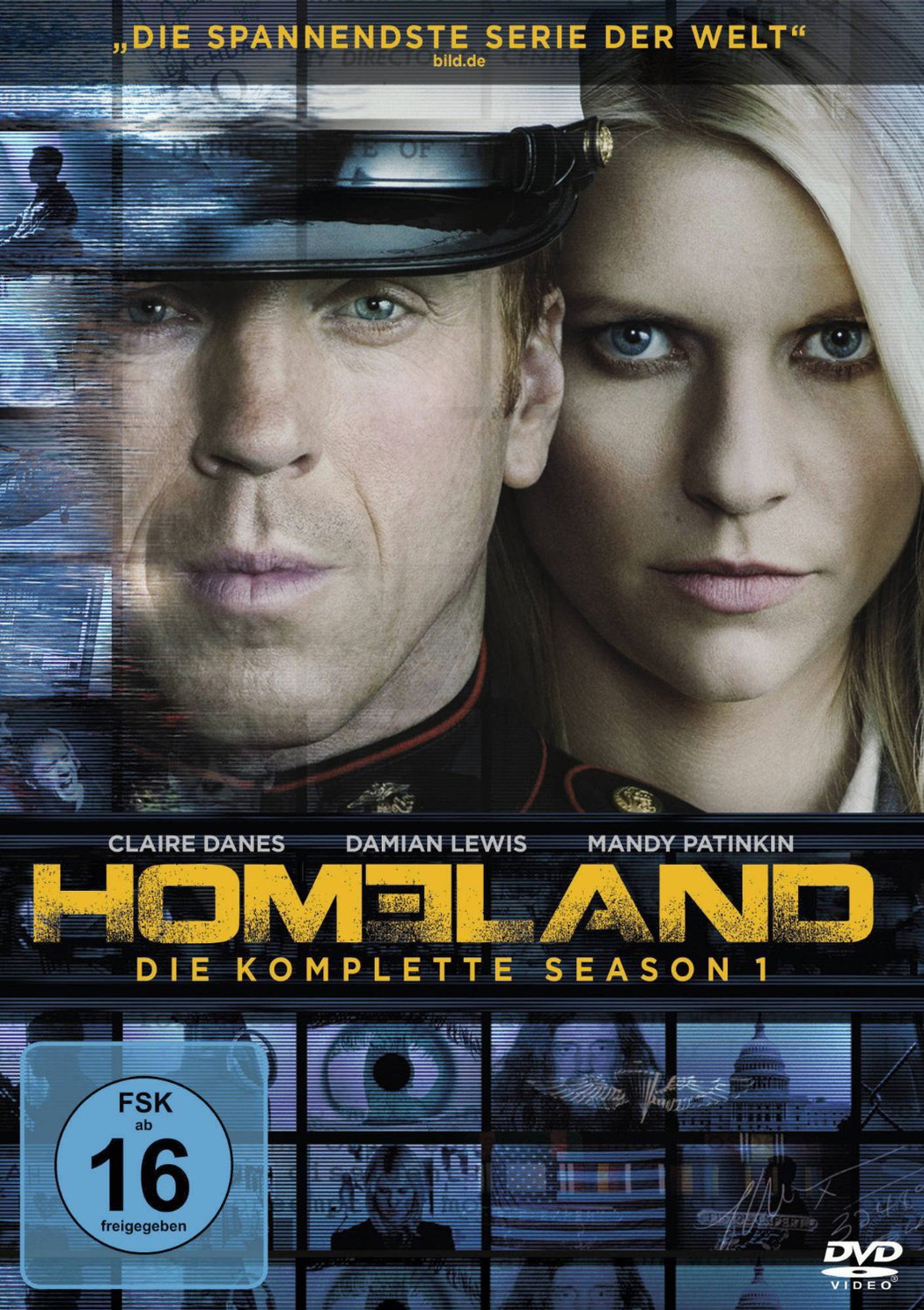 Homeland: Die komplette Season 1 [4 DVDs]