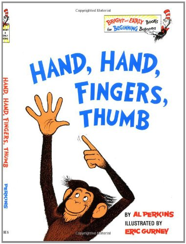 Hand, Hand, Fingers, Thumb (Bright & Early Book...