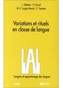Langue Et Apprentissage Des Langues: Variations Et Rituels En Classe De Langue (L. A. L.) - CREDIF, gebraucht gebraucht kaufen  Wird an jeden Ort in Deutschland