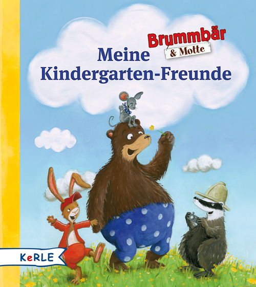 Brummbär & Motte - Meine Kindergartenfreunde
