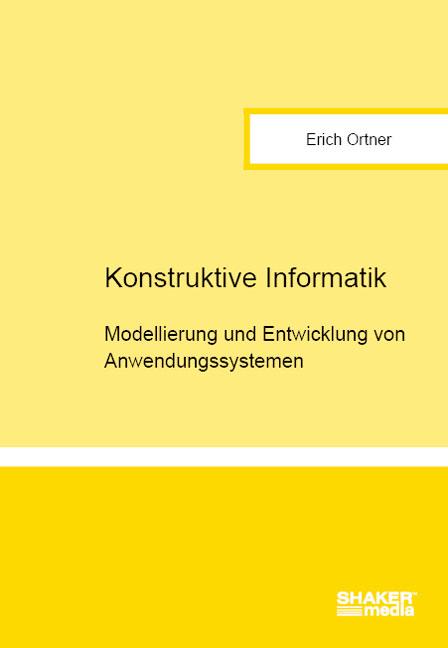 Konstruktive Informatik: Modellierung und Entwi...