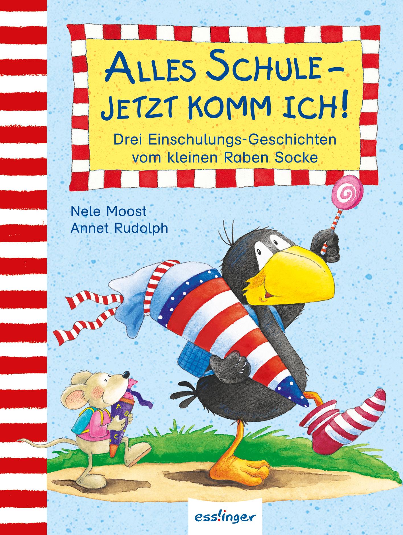 Kleiner Rabe Socke: Alles Schule - jetzt komm i...
