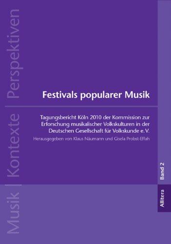 Festivals popularer Musik: Tagungsbericht Köln ...
