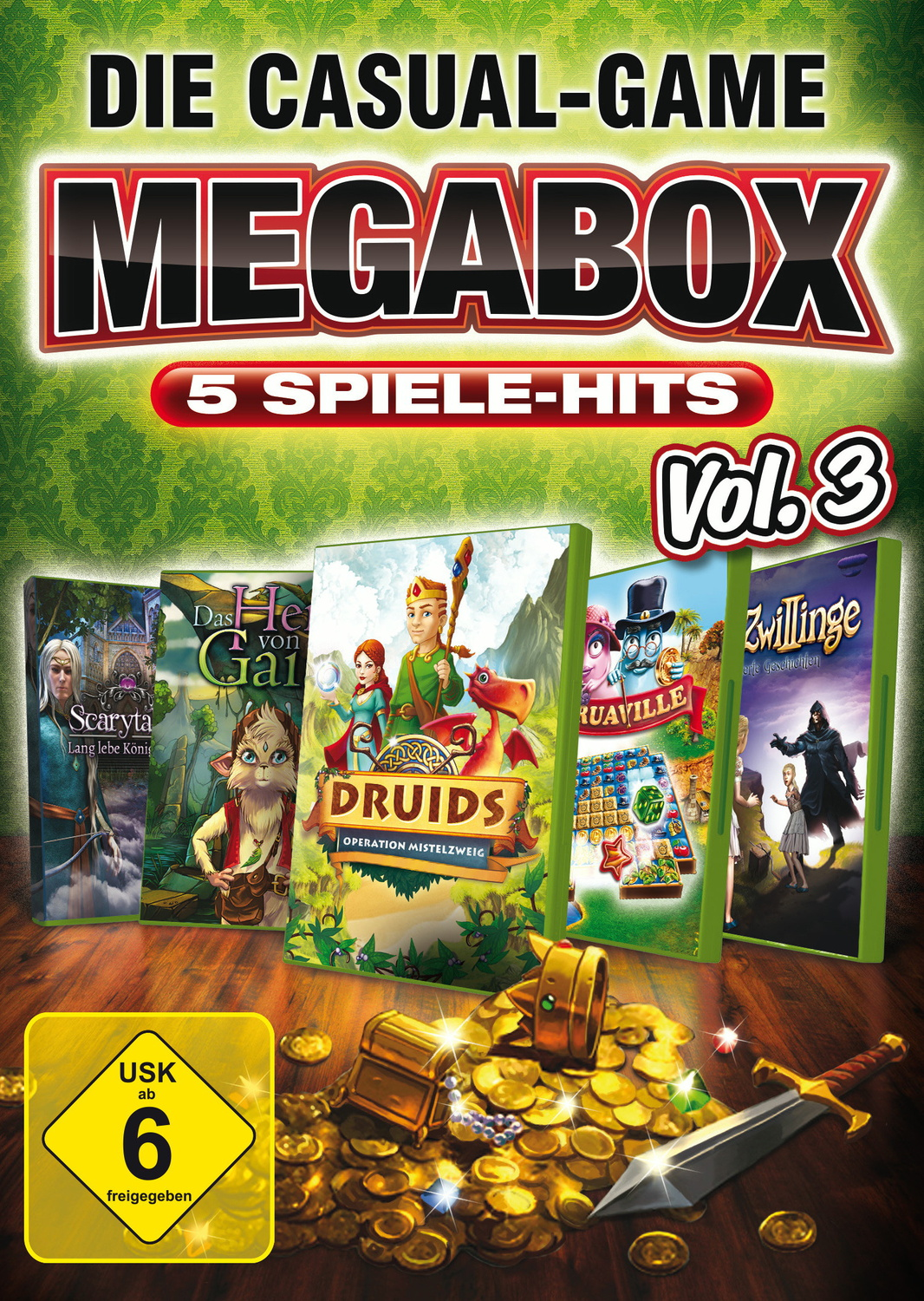 Die Casual-Game MegaBox vol. 3 (PC)