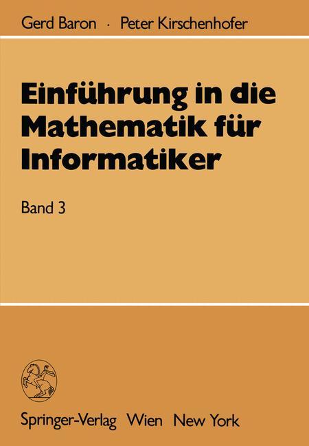 Einführung in die Mathematik für Informatiker: ...