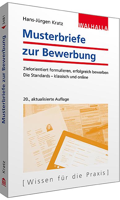 Musterbriefe zur Bewerbung - Hans-Jürgen Kratz