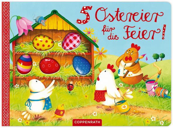 5 Ostereier für die Feier! - Taube, Anna