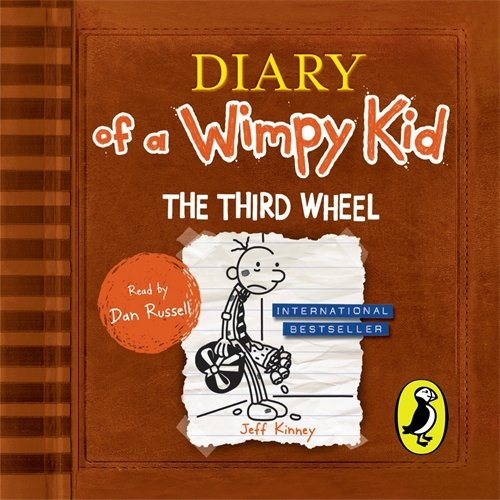 Diary of a Wimpy Kid: Book 7 - The Third Wheel - Jeff Kinney