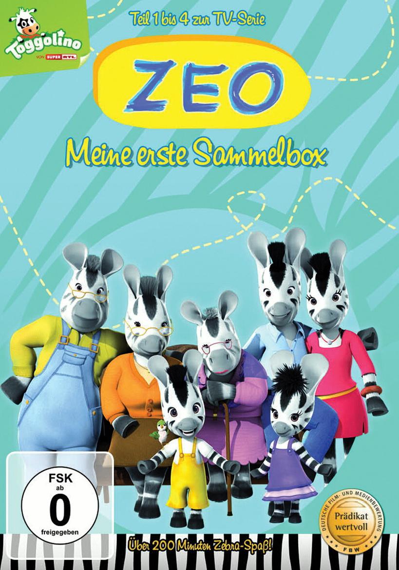 Zeo, Teil 1-4 - Meine erste Sammelbox [4 DVDs]
