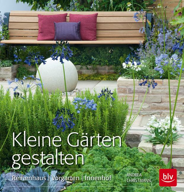 Kleine Gärten gestalten: Reihenhaus Vorgarten Innenhof - Andrea Christmann