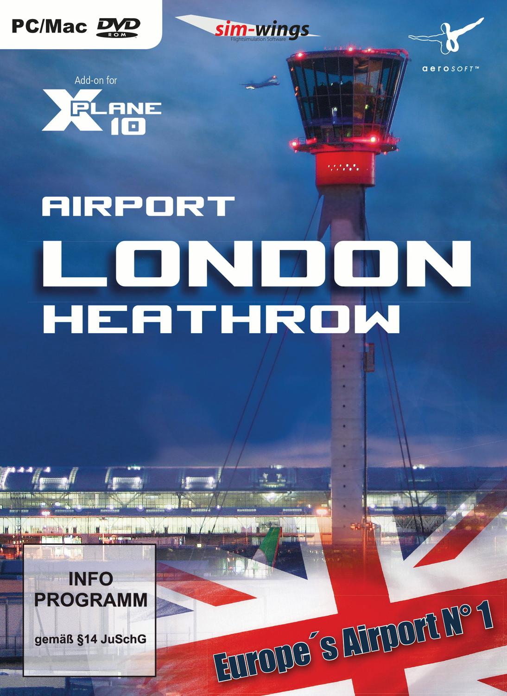 X-Plane 10 - Airport London-Heathrow (Add-On)