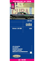 Reise Know-How Landkarte Cuba (1:650.000) mit Havanna (1:50.000): world mapping project - Verlag, Peter Rump