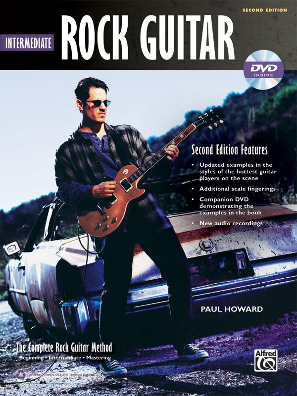 Complete Rock Guitar Method: Intermediate Rock Guitar (2nd Edition) (2nd Edition) | Gitarre | Buch & DVD-ROM (Complete Method) - By Paul Howard