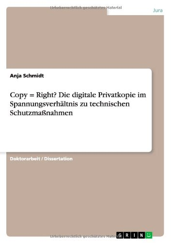 Copy = Right? Die digitale Privatkopie im Spann...