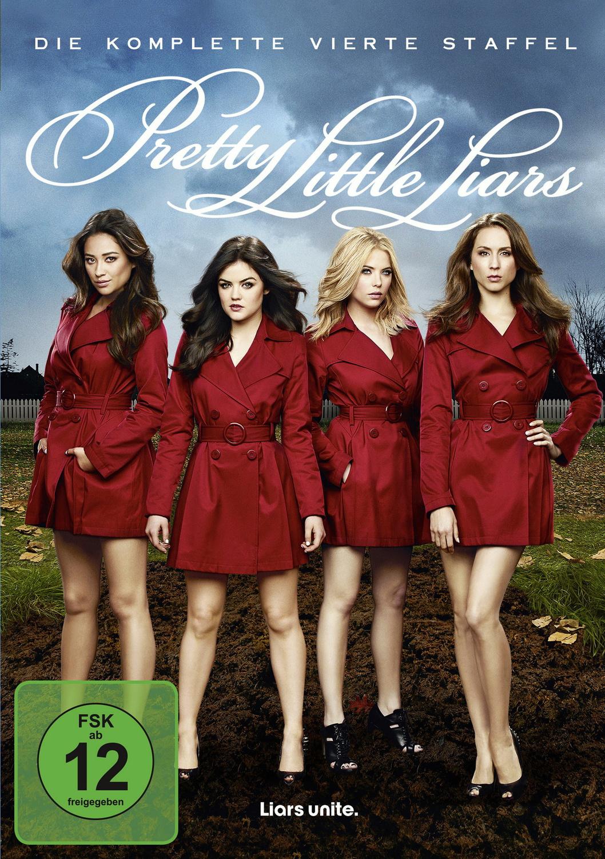 Pretty Little Liars - Die komplette 4. Staffel [5 DVDs]