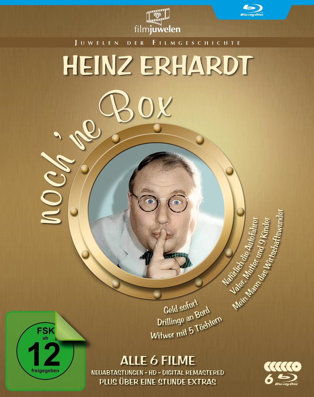 Heinz Erhardt - noch ´ne Blu-ray Box (6 Kultfilme in HD + Bonus-Filmclips) [Filmjuwelen]