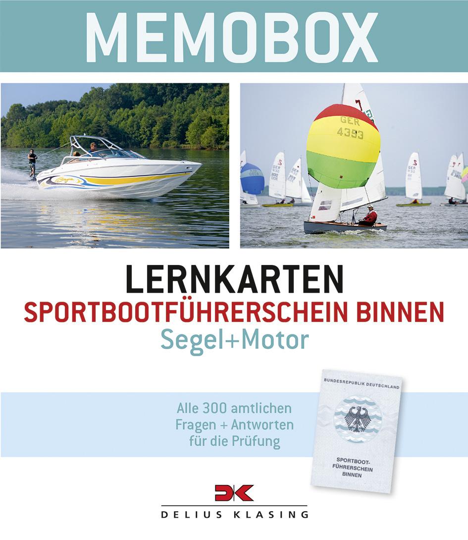 Lernkarten-Memobox Sportbootführerschein Binnen...