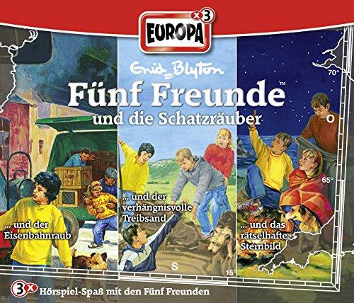 Fünf Freunde: Folgen 51 / 82 / 87 - ... und die Schatzräuber [3er Box]