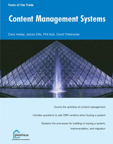 CONTENT MANAGEMENT, (Tools of the Trade) - ADDEY