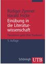 Einübung in die Literaturwissenschaft: Parodieren geht über Studieren - Harald Fricke & Rüdiger Zymner [Taschenbuch, 3. Auflage 1996]