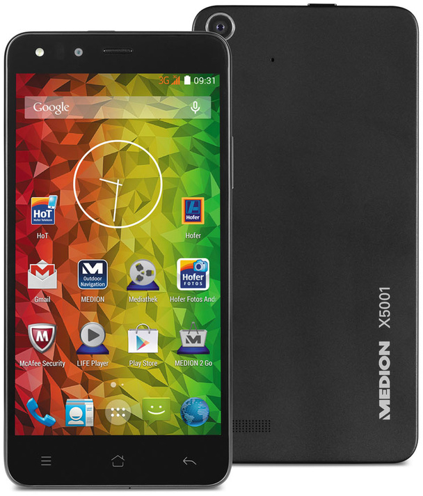 Medion Life X5001 16GB schwarz