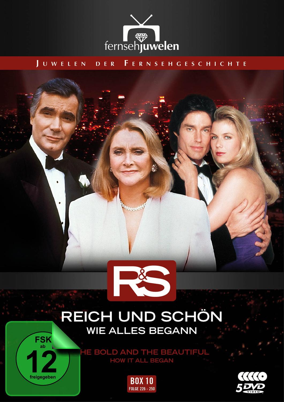 Reich und schön - Wie alles begann: Box 10 - Folgen 226-250 [Fernsehjuwelen, 5 DVDs]