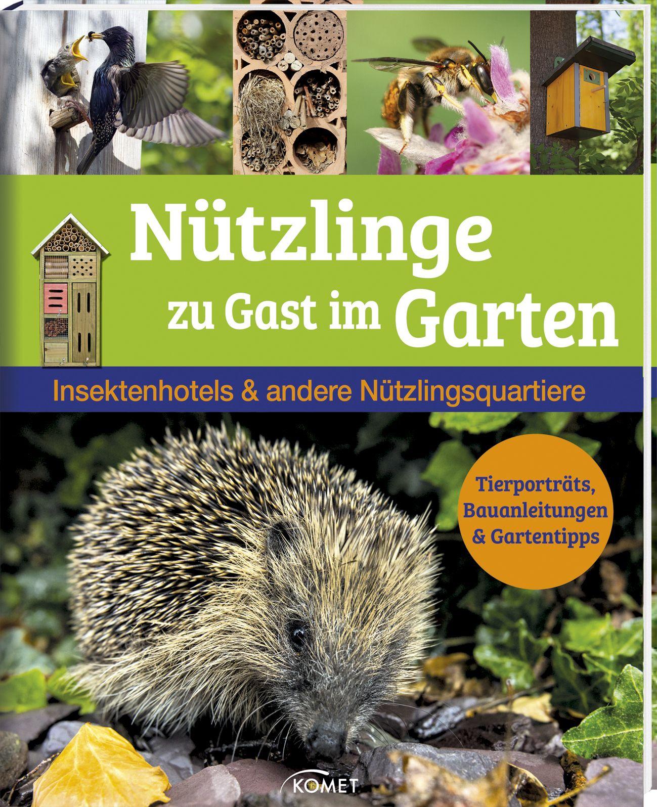 Nützlinge zu Gast im Garten: Insektenhotels & a...