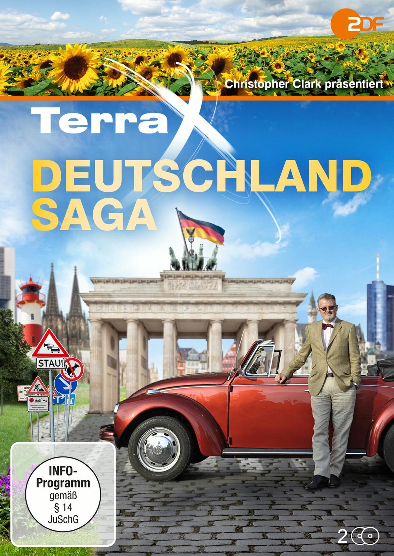 Terra X: Deutschland-Saga (Alle 6 Folgen) [2 DVDs]